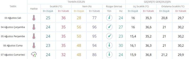 İstanbul'da hava durumu bu hafta nasıl olacak, sıcaklıklar düşecek mi? Sıcaklıklar ne zaman düşecek? İşte 2-8 Ağustos 2021 Haftalık hava durumu tahminleri! 15