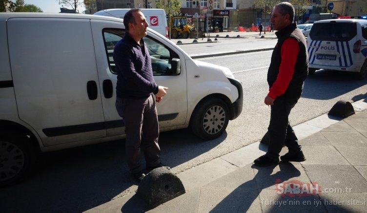 Sancaktepe'de soyguncuların planı pes dedirtti