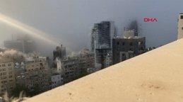 Son Dakika | Lübnan'nın başkenti Beyrut'taki dev patlamanın en net görüntüleri ortaya çıktı | Video