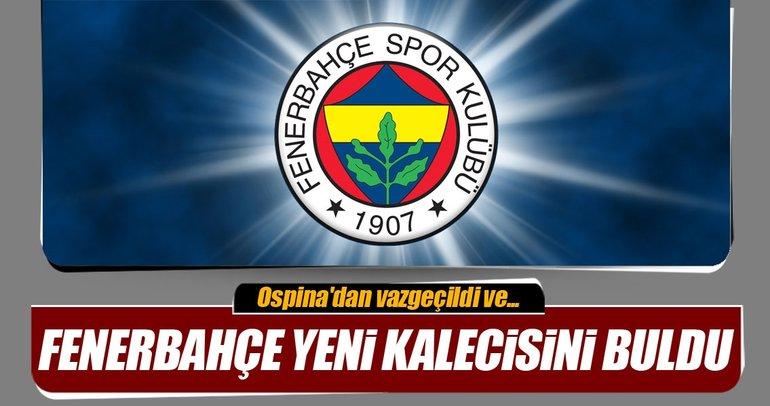 Fenerbahçe yeni kalecisini buldu