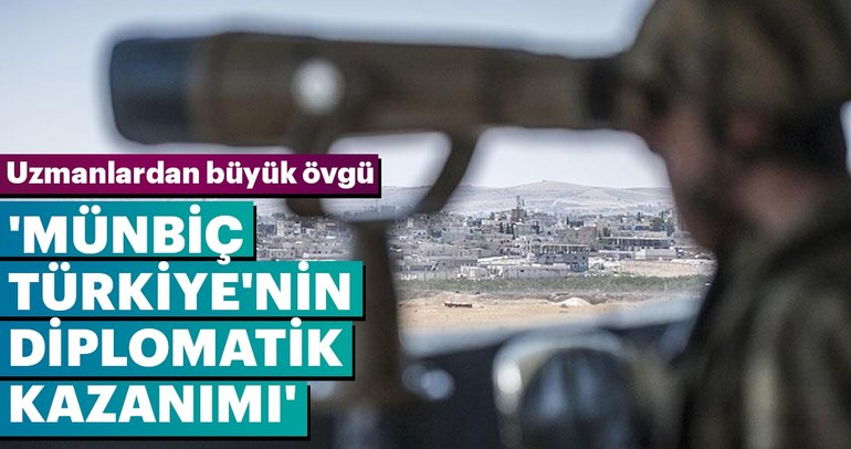 'Münbiç, Türkiye'nin diplomatik kazanımı'