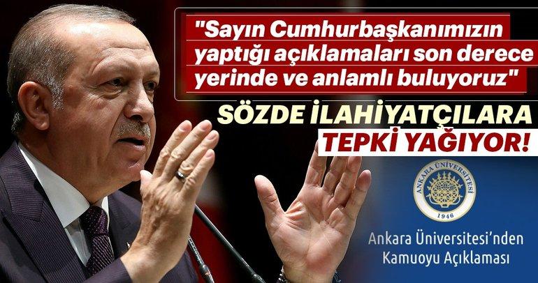 Ankara Üniversitesi'nden Kamuoyu Açıklaması
