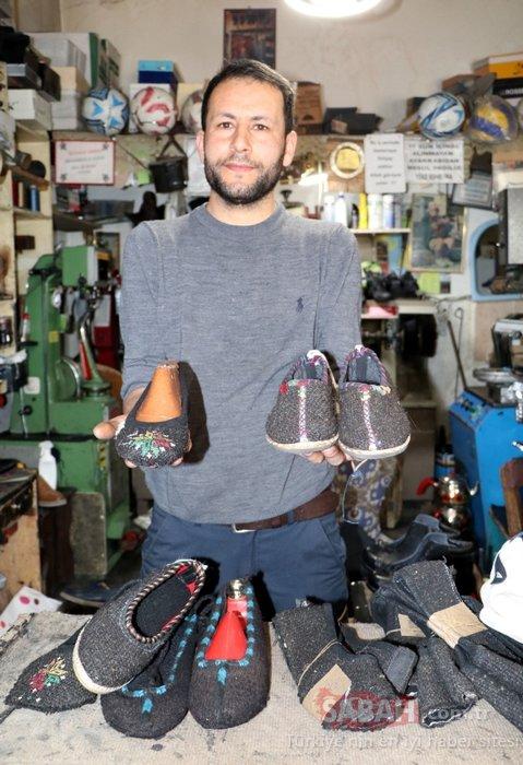 Van'ın 'reşik' ayakkabıları, Avrupa'ya da gönderiliyor