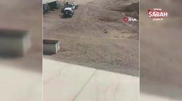 Medine'de polise silahlı saldırı: 2 yaralı | Video