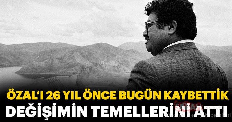Turgut Özal'ın ölümünün üzerinden 26 yıl geçti