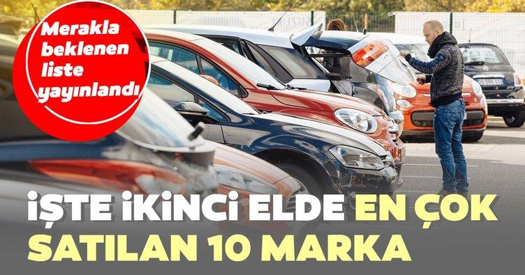 Son dakika: En çok satan ikinci el otomobiller belli oldu! Merakla beklenen liste yayınlandı...