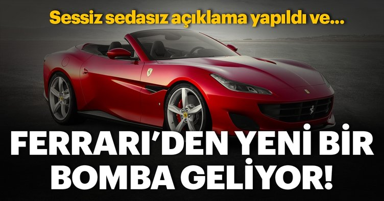 Ferrari yeni aracının tanıtım tarihi açıklandı! Pek ipucu içermeyen görsel paylaştı