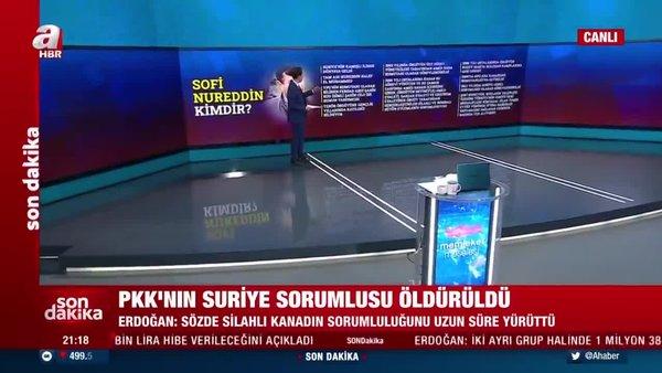 PKK'nın Suriye sorumlusu Sofi Nurettin kimdir? Detaylar A Haber'de...   Video