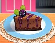 Çikolatalı Böğürtlenli Pasta