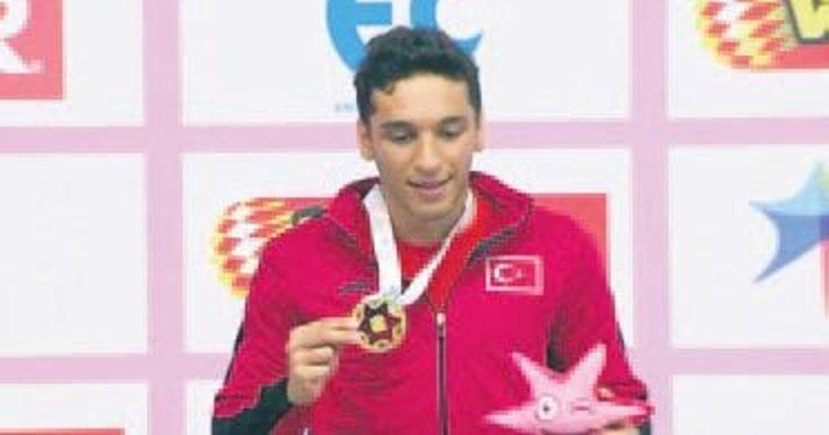 Yüzmede Ümit Can Avrupa Şampiyonu