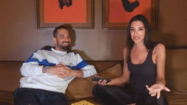 Galatasaraylı futbolcu Arda Turan'dan eşi Aslıhan Doğan Turan'a flaş röportaj