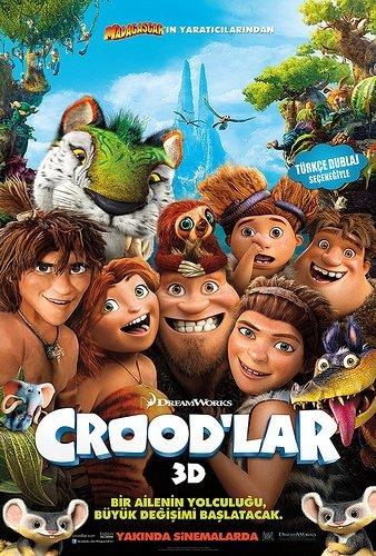 Crood'lar filminden kareler