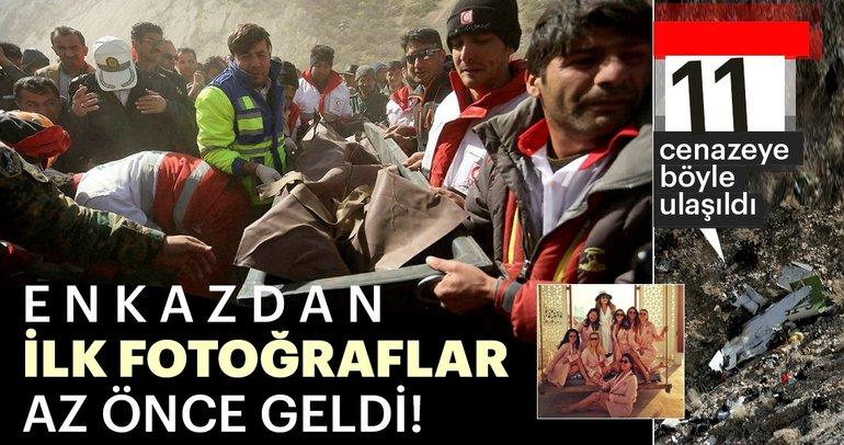 İran'da Başaran Holding'e ait özel uçak düştü! İşte özel Türk uçağından ilk görüntüler