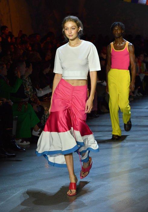New York moda haftasından dikkat çeken görüntüler!