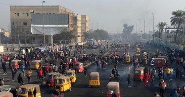 Irak'ta sokaklar karıştı! Hükümet resmi tatil ilan etti