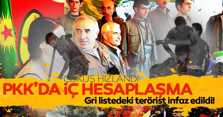 PKK'daki iç hesaplaşma çöküşü hızlandırdı: Gri kategorideki terörist infaz edildi!