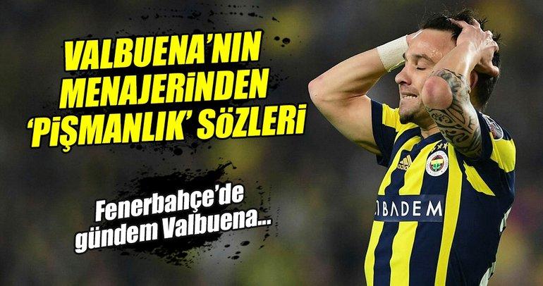 Valbuena'nın menajerinden 'pişmanlık' açıklaması
