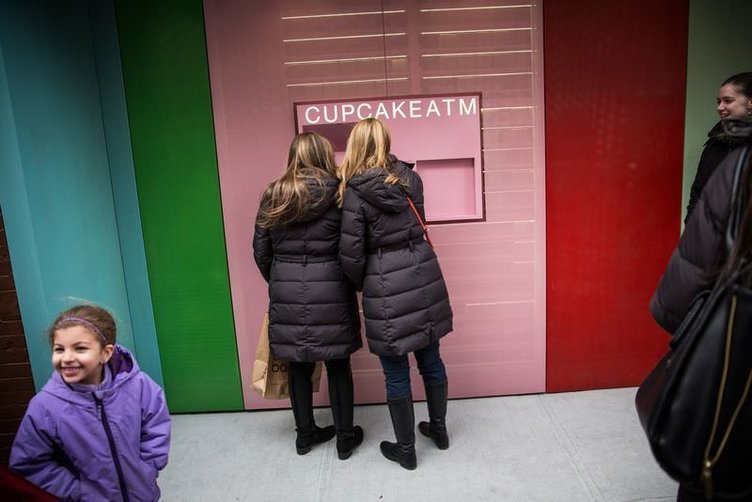 New York'un ilk Cupcake ATM'si