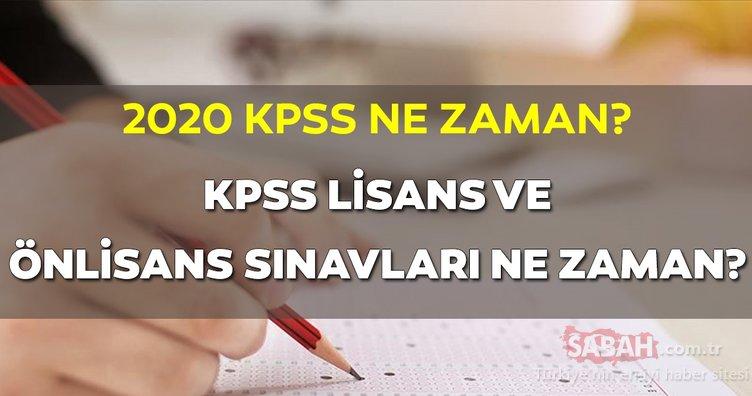KPSS ne zaman yapılacak, hangi tarihte? ÖSYM sınav takvimi: 2020 KPSS lisans ve önlisans başvuruları ne zaman başlıyor?