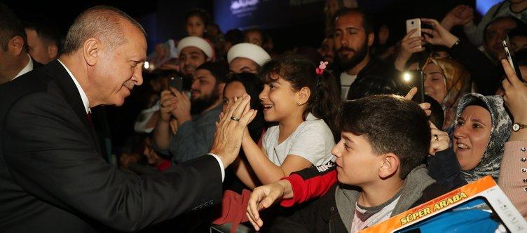 Başkan Erdoğan, İBB'nin Yenikapı Etkinlik Alanı'nı ziyaret etti