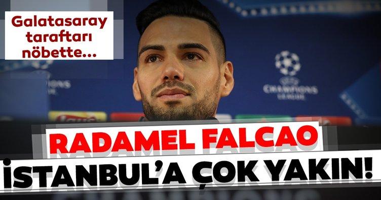 Üç büyüklerden son dakika transfer atağı geldi! Radamel Falcao Galatasaray için gelecek mi?