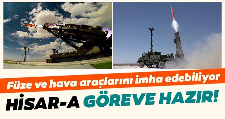 Yüzde 100 başarı sağlanmıştı! Yerli hava savunma sistemi HİSAR-A göreve hazır! Önümüzdeki yıl başlıyor