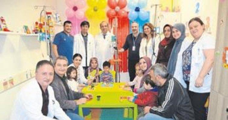 Alkü hastanesi oyun odası açtı