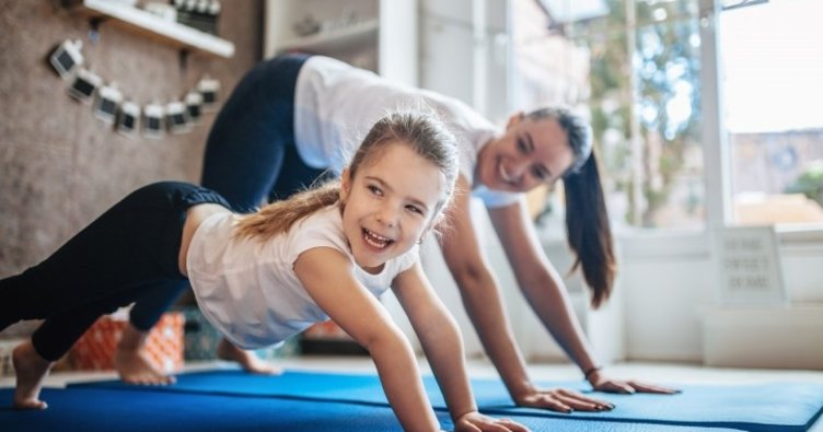 Çocuklar için 10 basit egzersiz