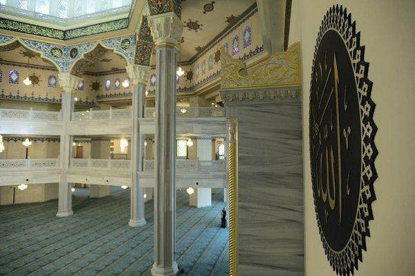 Moskova Camisi'nde Osmanlı izleri