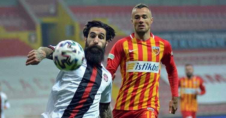 Kayserispor 0-0 Fatih Karagümrük MAÇ SONUCU