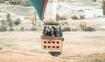 Kapadokya'ya şarkı yaptı