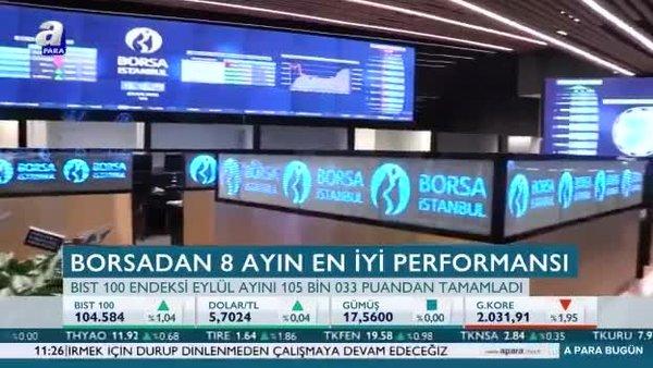 Borsa'dan 8 ayın en iyi performansı