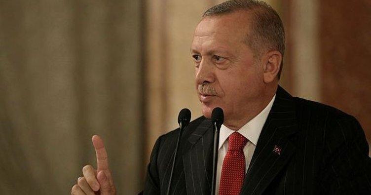 Başkan Erdoğan'dan A Milli Takım'a tebrik
