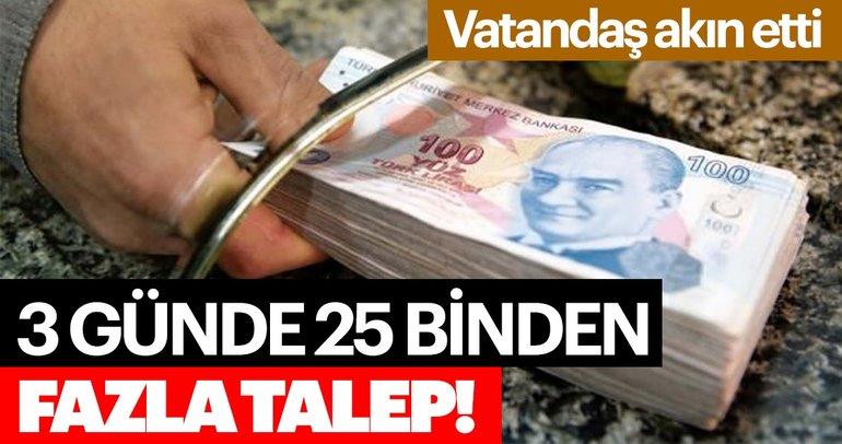 TOKİ'nin sosyal konutlarına 3 günde 25 binden fazla talep