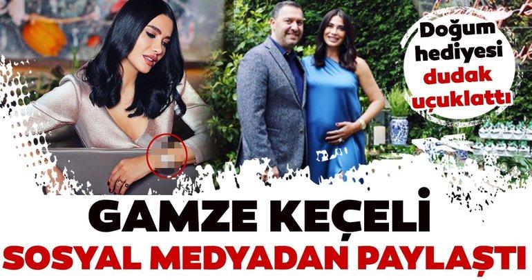 Nedim Keçeli'nin Gamze Keçeli'ye aldığı doğum hediyesi dudak uçuklattı