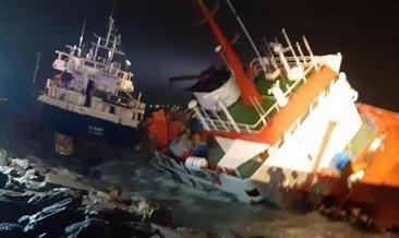 Son dakika: Tuzla açıklarındaki gemi kazası