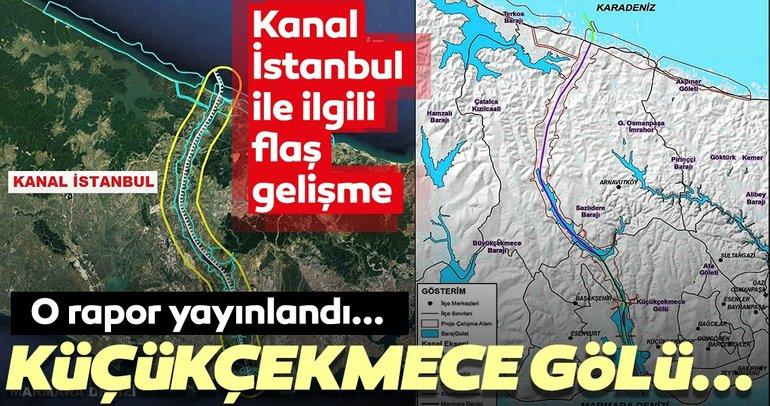 Kanal İstanbul'la ilgili ÇED raporu açıklandı