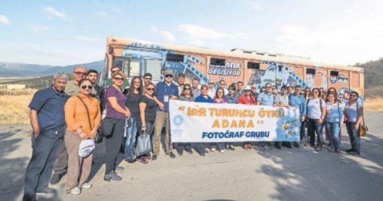 Bir turuncu öykü Adana proje çekimi