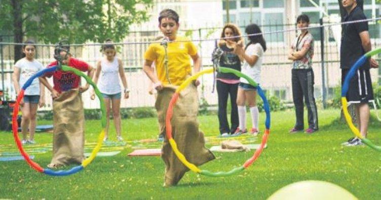 Eğlence dolu yaz okulu