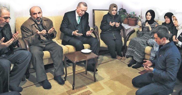 Erdoğan: Şehitlerin hesabını soruyoruz