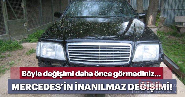 Mercedes'in müthiş değişimi!