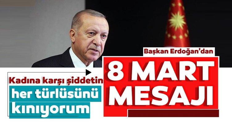 Başkan Erdoğan'dan kadına yönelik şiddete sert tepki