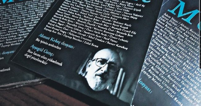 Muhit Dergisi'nden Ahmet Kekeç'evefa sayısı