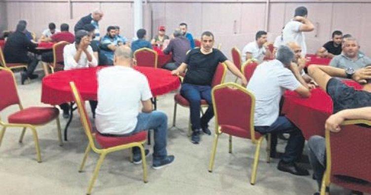 Tarsus'ta tombala operasyonu yapıldı