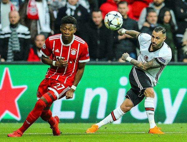 Bayern Münih cephesi Beşiktaş taraftarına hayran kaldı