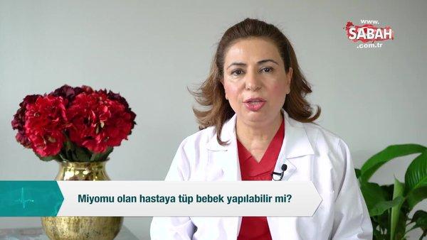 Miyomu olan hastaya tüp bebek yapılabilir mi? | Video