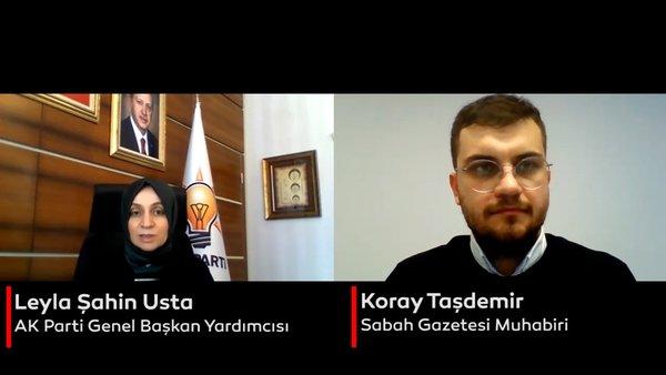 AK Parti Genel Başkan Yardımcısı Leyla Şahin Usta