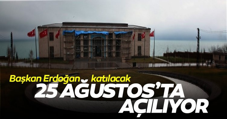 Ahlat Cumhurbaşkanlığı Külliyesi 25 Ağustos'ta açılıyor