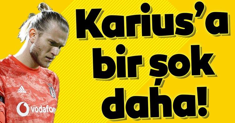 Beşiktaş'ın eski kalecisi Karius'a bir şok daha!