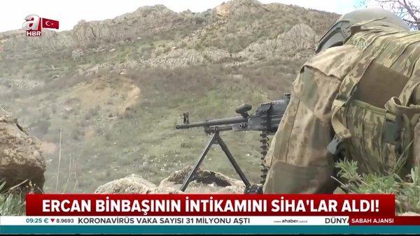 Binbaşı Ercan Kurt'un katili Amanoslar'da öldürüldü | Video